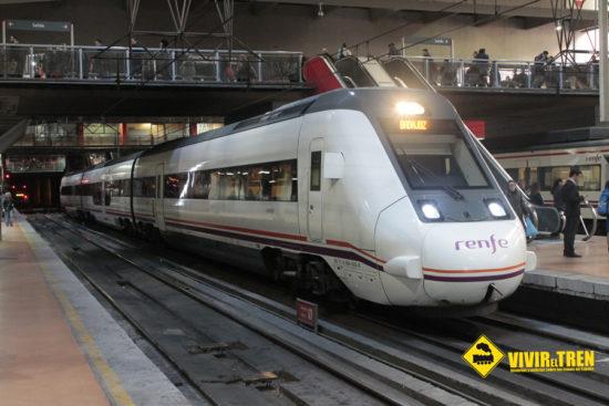 Trenes Extremadura averia