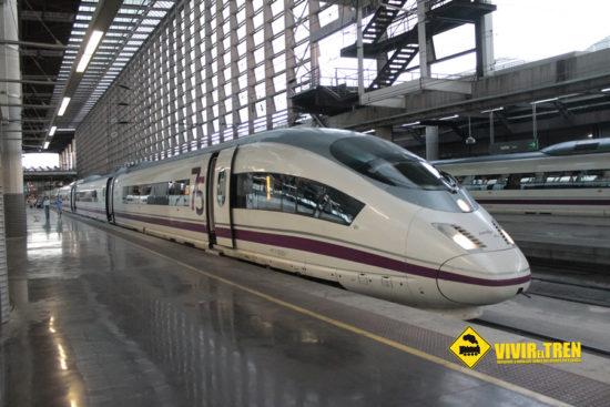 Renfe reducirá la clase preferente los trenes AVE S-103 en beneficio de la clase turista