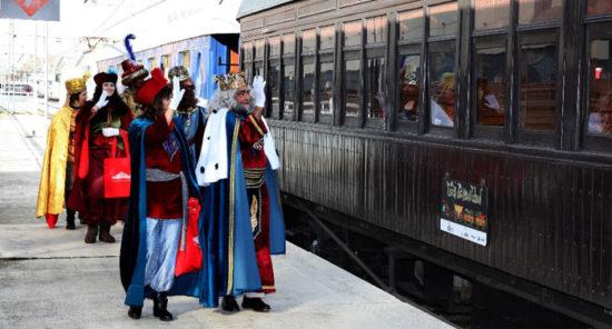 Súbete estas navidades al Tren de la Navidad
