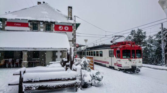 La Asociación de Amigos del Ferrocarril de Madrid organiza un año más el Tren de la Nieve
