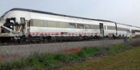 Accidente Tren MD Talavera