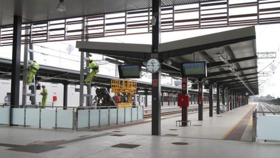 Huelva inaugura la nueva estación de ferrocarril