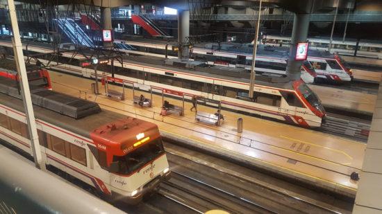 Plan mejora Cercanías Madrid