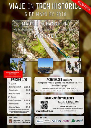 Viaje en el Tren de los 80 entre Madrid Chamartín y Córdoba