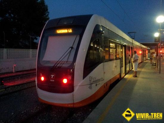Tram de Alicante ofrece servicio ininterrumpido durante 5 días por las fiestas de las Hogueras