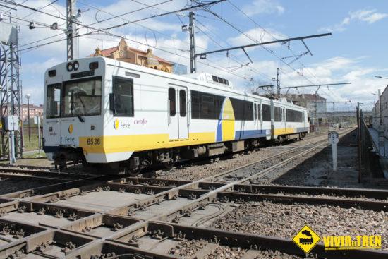 El tráfico ferroviario entre El Berrón y Laviana interrumpido durante 3 meses