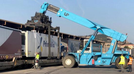 Se pone en servicio la Autopista Ferroviaria entre Barcelona y Luxemburgo