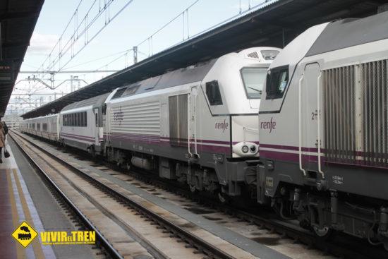 Renfe rebajará el precio del billete entre Almería y Madrid y circulará con locomotora de reserva