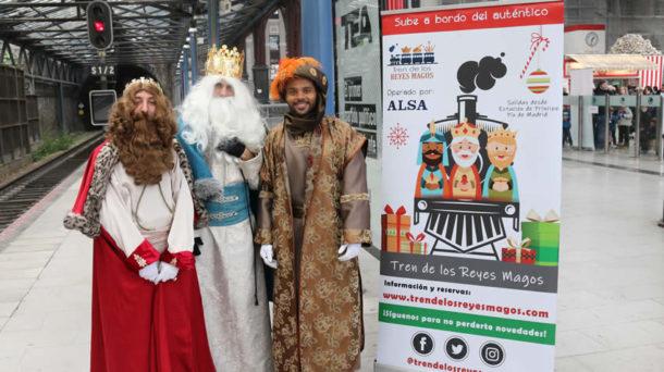 El Tren de los Reyes Magos circulará entre Príncipe Pío y Majadahonda estas navidades