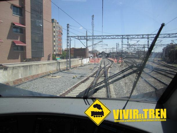 Adif pone en servicio la duplicación de vía de acceso a la estación de Valladolid